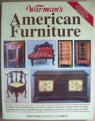 20,000 ANTIQUE FURNITURE PRICE GUIDE COLLECTORS BOOK Desk bed sofa's table ++