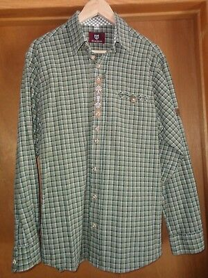 OS Trachten lederhosen shirt size mens medium