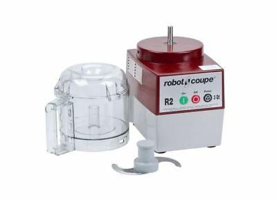 New Robot Coupe R2 Commercial 1 Hp Food Processor With 3 Qt Clear Bowl R2Bclr
