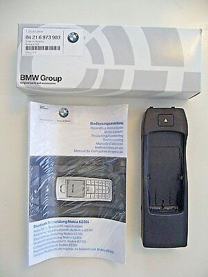 Orig BMW Snap in Adapter BMW Bluetooth Nokia 6230i 84216973983 OVP +  Anleitung