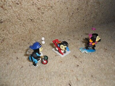 Hallmark Merry Miniatures Way To Bees Collection LOT OF 3