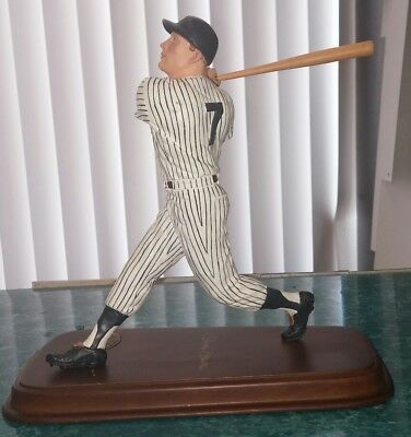 Mickey Mantle All Star Figurines Danbury Mint statue figure Cooperstown