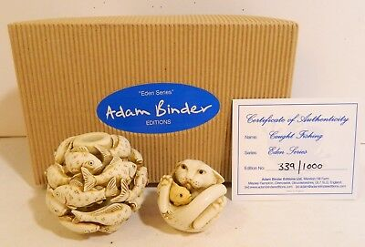 Adam Binder - Caught Fishing Set - New In Box - Edition Of 1000 - Timed Ed.