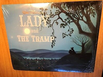 Walt Disneys Lady And The Tramp Exclusive Lithograph Portfolio Set of 4 Vintage