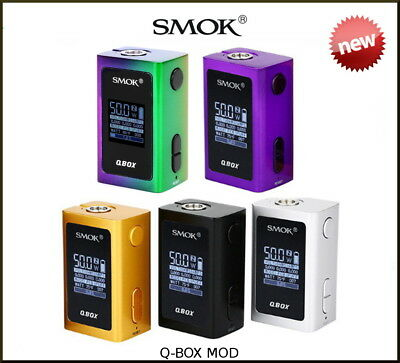 SMOK QBOX MOD only - 100% AUTHENTIC - Factory sealed with code check sticker