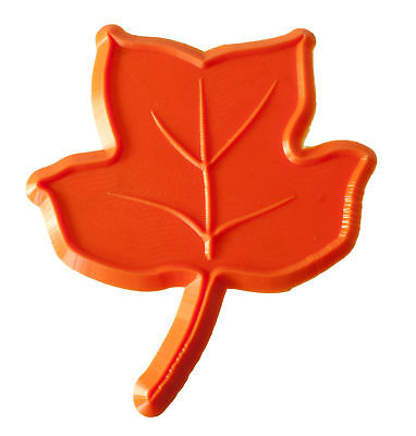 Poplar Leaf Decorative Concrete Border Accent Art Stamp Tool Mat 9LV04-R