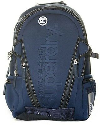 New Mens Superdry Neotarp Backpack - Dark Navy RRP £54.99 BNWT