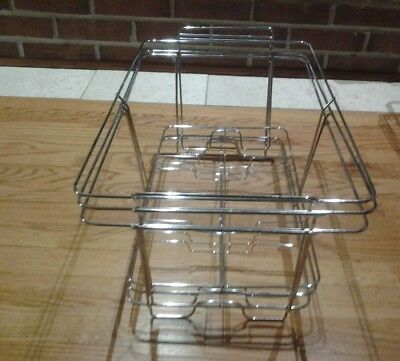 Sterno Chafing Dish Wire Rack, chrome plated heavy duty - Lot of 3