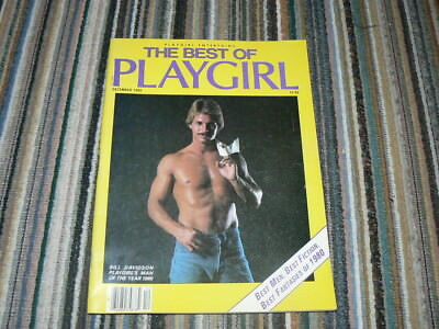 The Best of PLAYGIRL  Dec. 1980 Akt Photos Vintage Gay Magazine Bill Davidson