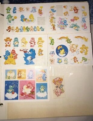 46 Vintage Carebear Stickers Dutch Strawberry Shortcake