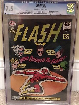 The Flash #130 (Aug 1962, DC) CGC 7.5! 1st Rogues Appearance!