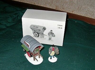 Dept 56 New England Dickens Heritage Village TOWN TINKER Accessory Set 56464