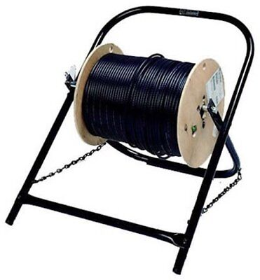 """NEW Black 20"""" x 16"""" Cable Reel Caddy"""