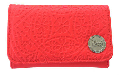 Billabong Wallet New Women S Pu Tags Teen Ladies Trifold Girls Radiant Granita