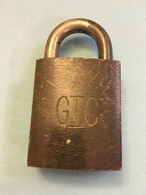 Best Padlock labeled GTC (General Telephone Company)