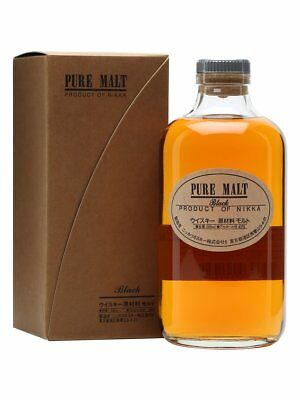 Nikka Pure Malt Black Blended Japanese Whisky 500ml