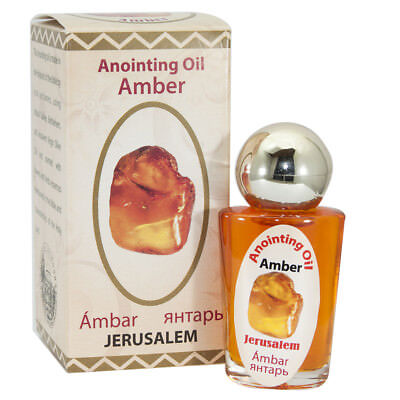 Anointing Oil Amber Authentic Fragrance Jerusalem Holy oil Biblical Spices 20ml
