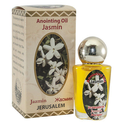 Anointing Oil Jasmin Authentic Fragrance Holy Land Biblical Spices 30 ml