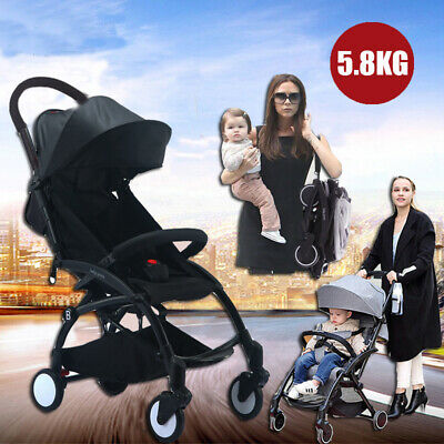 Lightweight Baby Toddler Stroller Jogger Generic Pram Compact  Fold Travel New