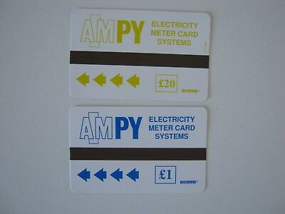 Prepaid Electric Meter Cards