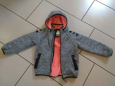 Name It Play Tech Teddy Softshelljacke Größe 110 Mädchen