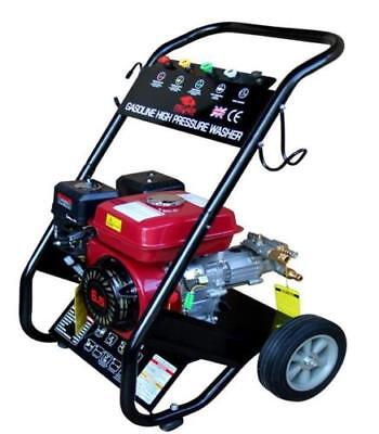 Heavy Duty 2500PSI 170 Bar Petrol Driven Pressure Power Jet Washer Portable C