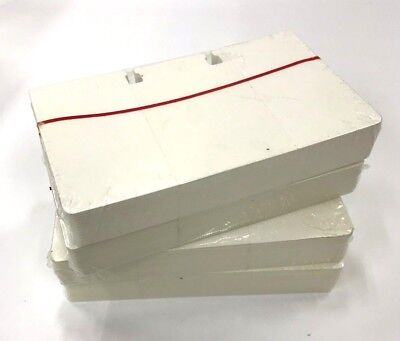 """Genuine Rolodex 400 Blank Rotary Refill File Cards 3"""" x 5"""" C35 White Sealed"""