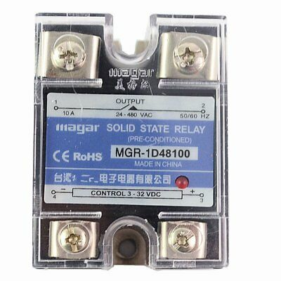 SSR-120A DA DC-AC Solid State Relay input 3-32VDC output 24-480VAC Control