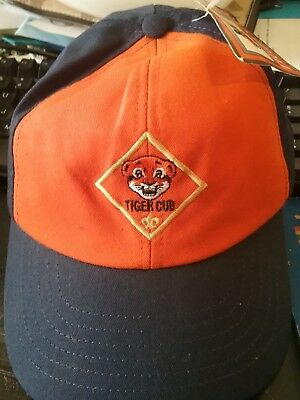 Boy Scouts of America Official Uniform Tiger Cub Scout Hat, Size: S/M NWT