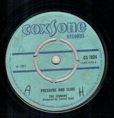 Tennors - Pressure And Slide - Coxsone UK Rocksteady Single