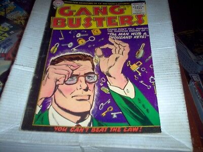 Gang Busters # 45 Dc 1955 Rare Dc Golden Age Crime Stories Look Fn-