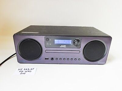 JVC RD-D70 Wireless Traditional Hi-Fi System + Remote Control (Black)