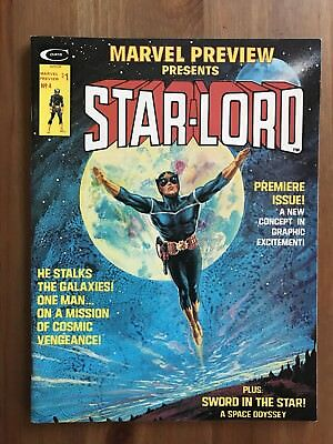 Marvel Preview 4 (MARVEL, 1976) ORIGIN/1st Appearance Of Star-Lord Infinity War
