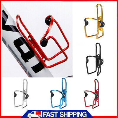 Aluminum Bicycle Bike Cycling Water Bottle Cage Drink Rack Holder Bracket JEDX5