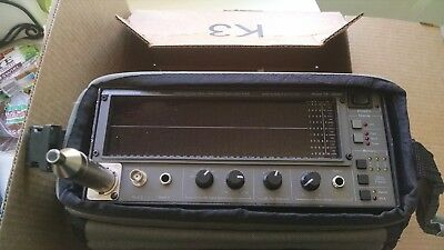 AUDIO CONTROL SA-3050A 3rd OCTAVE REAL TIME AUDIO SPECTRUM ANALYZER w/MIC & CASE