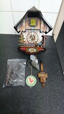 Original Black Forest Cuckoo Clock Hubert Herr Solid Wood