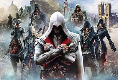 Trefl 26142 Puzzle 1500 Teile Assassins Creed Collage