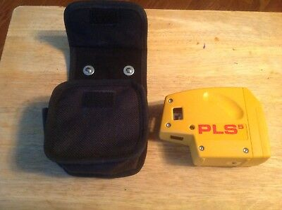 PACIFIC LASER SYSTEMS PLS 5 **WITH SOFT** POUCH Excellent Condition