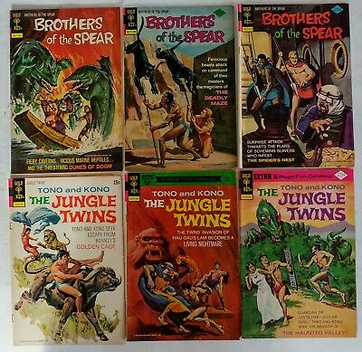 Gold Key-Brothers of the Spear #8,10,11-1974