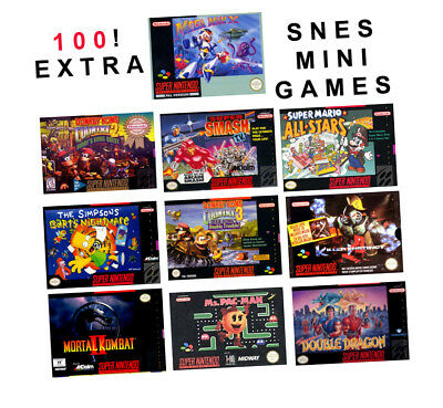SNES Classic Mini Mod 100 Awesome Games and software via USB - Fast Delivery