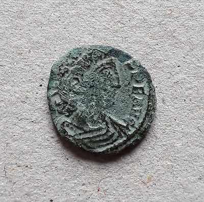 Ancient Byzantine Constans 11 Follis 7th Century Ad Coins: Ancient