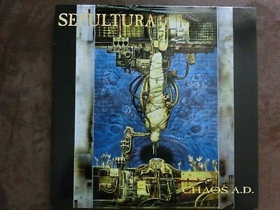 Sepultura - Chaos A.D LP with OIS, Original Roadrunner pressing
