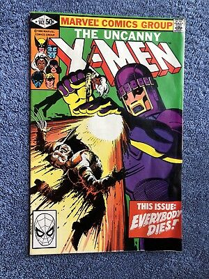 Marvel X-Men #142 1981 Days Of Future Past