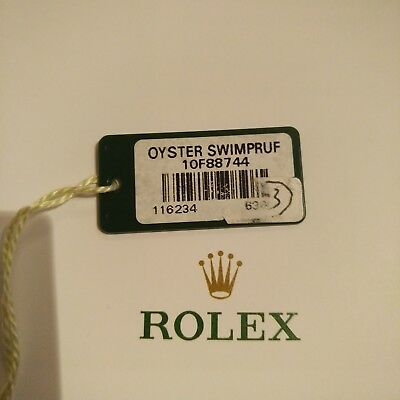 ROLEX HangTag for Datejust 36 116234 ORIGINAL - Hang Tag Price Tag