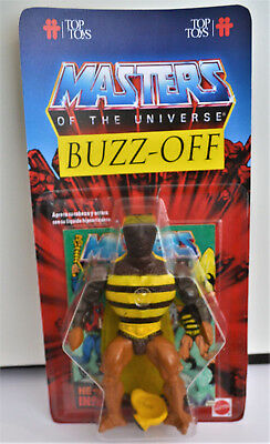 Motu Masters of the Universe TOP TOYS Buzz Off Brown Arms Custom repackaging