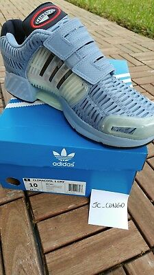 huge selection of a08b8 6636a New Adidas Climacool 1 CMF Tactile Blue Mens Running Shoes BA7267 Size 10