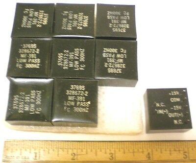 9 Vintage Low Pass Active Filter Modules for Special Sound Effects, FC300Hz, USA
