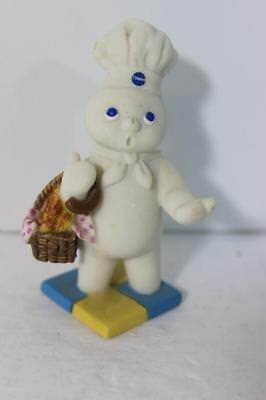 Pillsbury Doughboy Calendar Figure Danbury Mint RARE REPLACEMENT-APRIL (Damaged)