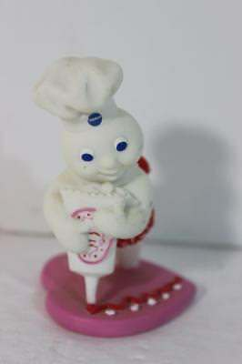 Pillsbury Doughboy Calendar Figure Danbury Mint RARE REPLACEMENT-FEBRUARY CUTE!