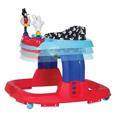 New Disney Mickey Mouse Baby Walker EarResistible Adjustable Baby Toddler Infant